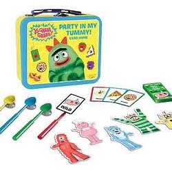 Yo Gabba Gabba! Party In My Tummy Lunch Box Card Game