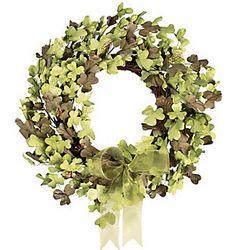 St. Pat's Floral Wreath