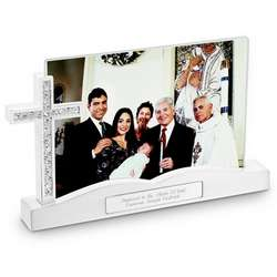 Cross Float Photo Picture Frame