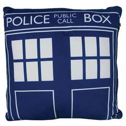 Square Doctor Who Tardis Cushion