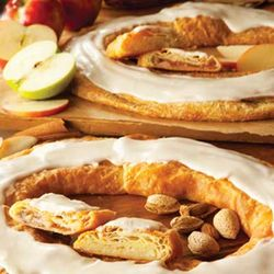 Apple and Almond Kringles