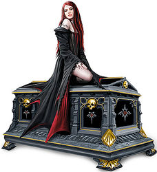 Love Without End Gothic Vampire Music Box
