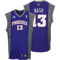 Steve Nash Phoenix Suns Purple Youth Replica NBA Jersey