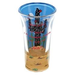 Black Cactus Party Shot Glass