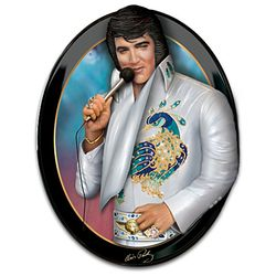 Elvis: Living Legend Three-Dimensional Wall Sculpture