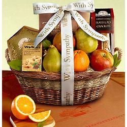 In Loving Memory Fresh Fruit Sympathy Basket