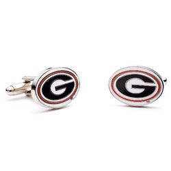 University of Georgia Bulldogs Enamel Cufflinks