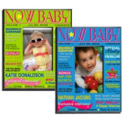 Magazine Cover Baby Photo Frame