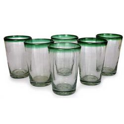 Conical Drinking Glasses