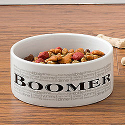 Doggie Delights Small Personalized Dog Dish