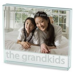 Grandkids Glass Picture Frame