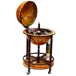 Firenze Four-Legged Italian Replica Globe Bar