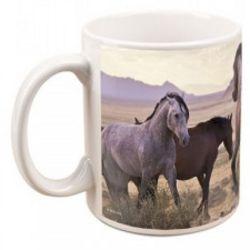 North America Wild Horses Mug