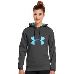 Women's Under Armour Logo Fleece Storm Hoodie