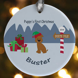 Pet Character Personalized Ornament