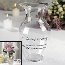 Memorial Flower Vase