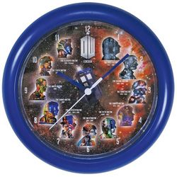 Doctor Who Eleven Clock
