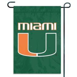 Miami Hurricanes Garden or Window Flag