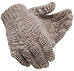 Womens Luxe Knit Gloves