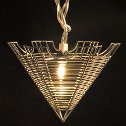 Wire Pyramid Lights
