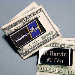 Personalized NFL Money Clip
