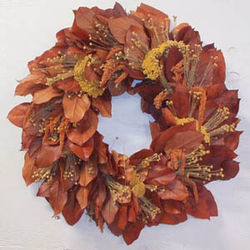 Fall Burst Wreath