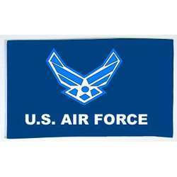 US Air Force Wing 3x5 Flag