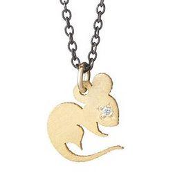 Chinese Zodiac Diamond Necklace