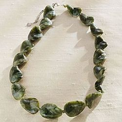 Connemara Twisted Marble Necklace