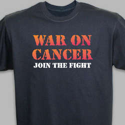 War on Cancer Awarness T-Shirt