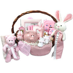 Bountiful Beginnings New Baby Basket