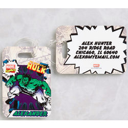 Personalized Marvel Superheroes Luggage Tags