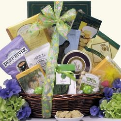 Easter Wishes Gourmet Treat Gift Basket