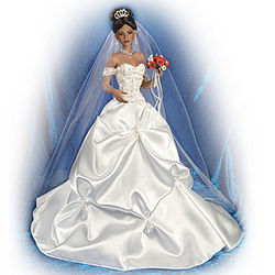 Glory of Love African-American Porcelain Bride Doll