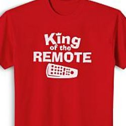 Red King of the Personalized T-Shirt