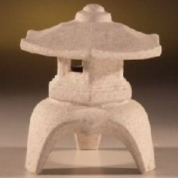 Large Ceramic Pagoda Lantern for Bonsai Garden