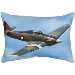 WWII Fighter Airplane Formation Pillow