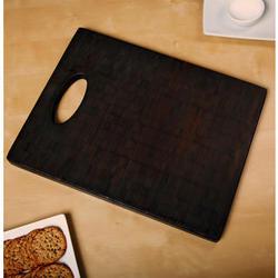Black Bamboo Cutting Board
