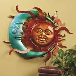 Moon & Sun Wall Decor