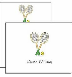 Personalized Tennis Pro Notes