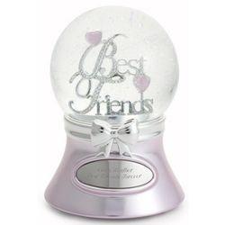 Best Friend Snow Globe Findgift Com