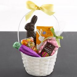 Classic Dark Chocolate Easter Basket