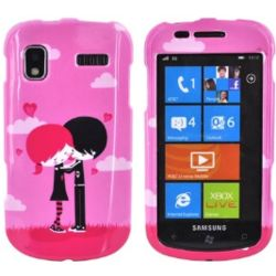 Pink Emo Love Focus i917 Phone Case