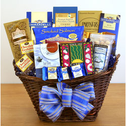 Kosher Hanukkah Gourmet Delight Basket