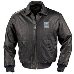 Ford Truck Men's Leather Jacket