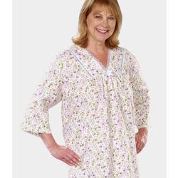 Women's Flannel Hospital Patient Gown