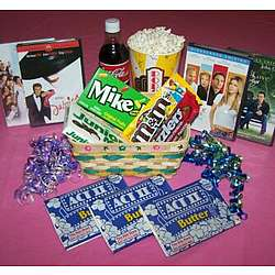 Mother's Day Movie Night Gift Basket