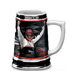 Dale Earnhardt 1998 Daytona 500 Victory Stein