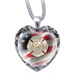 Firefighter Necklace on Firefighter Necklace Photos
