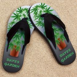 Personalized Pot Garden Pro Fit Sandal